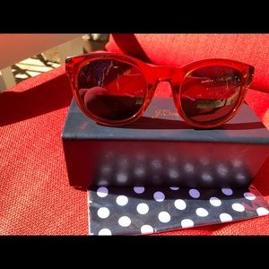 J. Crew Sam Sunglasses in Rhubarb